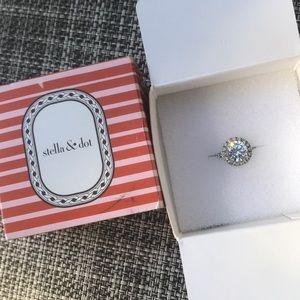 Stella & Dot Elena Ring Size 6